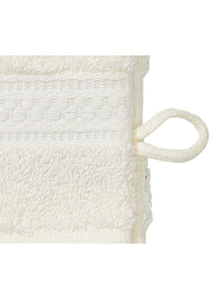 gant de toilette de qualité épaisse - écru écru gant de toilette - 5272601 - HEMA