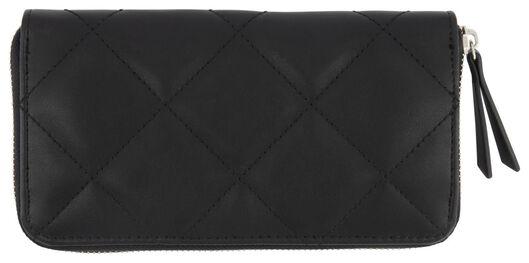 HEMA Portemonnaie, 10.5 X 20 Cm, Schwarz