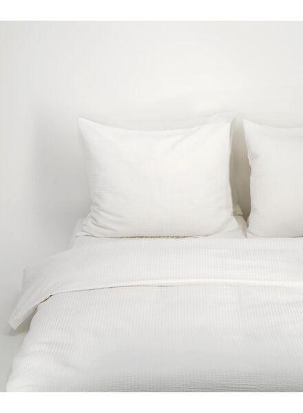 housse de couette - coton doux blanc blanc - 1000016610 - HEMA