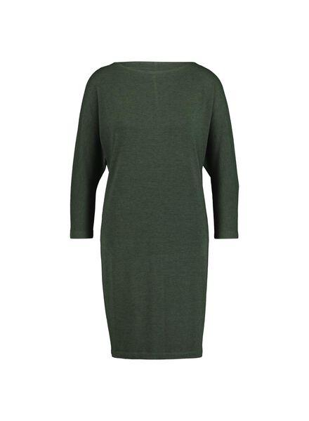 women's dress dark green dark green - 1000014820 - hema