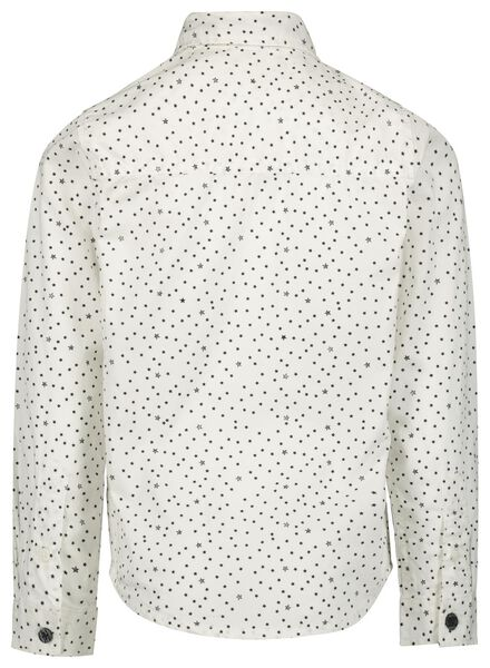 children's shirt with tie off-white off-white - 1000017205 - hema