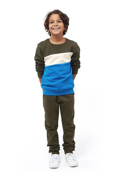 Kinder-Sweathose grün grün - 1000017750 - HEMA