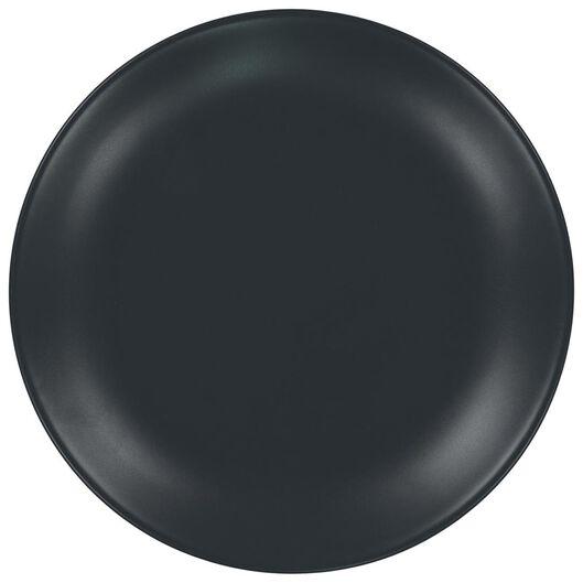 assiette plate - 26 cm - Amsterdam - gris mat - 9602005 - HEMA