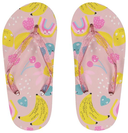 children's flip-flops fruit light pink light pink - 1000023102 - hema
