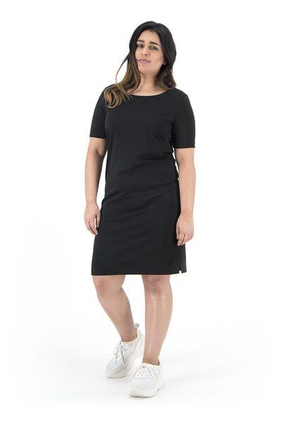 women's dress black black - 1000019246 - hema