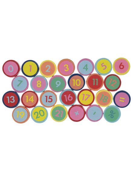 stempelset cijfers - 26 stuks - 15950035 - HEMA