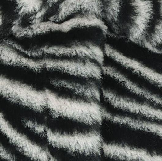 children's coat imitation fur white white - 1000020147 - hema