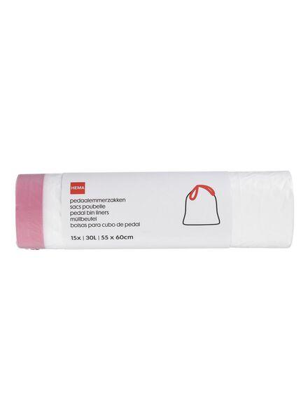 Treteimerbeutel, 30 Liter, 15er-Pack - 20550021 - HEMA