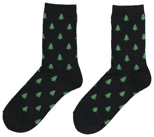 women's socks black black - 1000020055 - hema