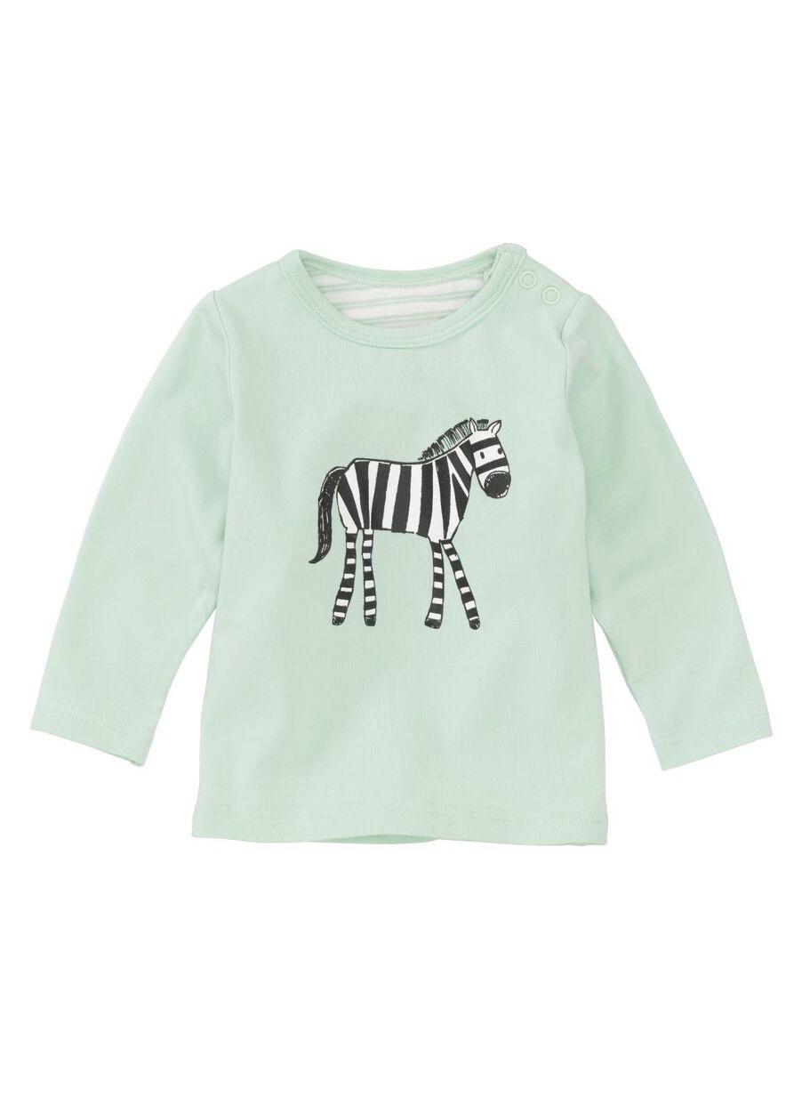 262d5a6ce newborn baby T-shirt mint green - HEMA