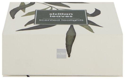 18 bougies d'ambiance parfumées sicilian leaves Ø3,5 cm - 13502470 - HEMA