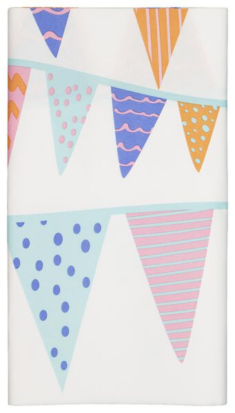 tablecloth - 138 x 220 - paper - triangle streamers - 14230180 - hema