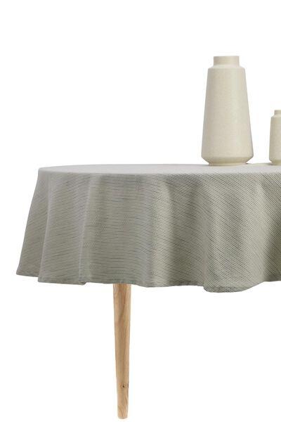 tablecloth Ø 180 cm cotton - 5300111 - hema