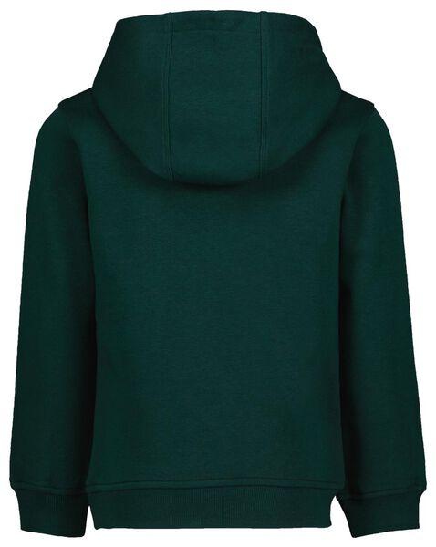 Kinder-Kapuzenshirt dunkelgrün dunkelgrün - 1000024562 - HEMA
