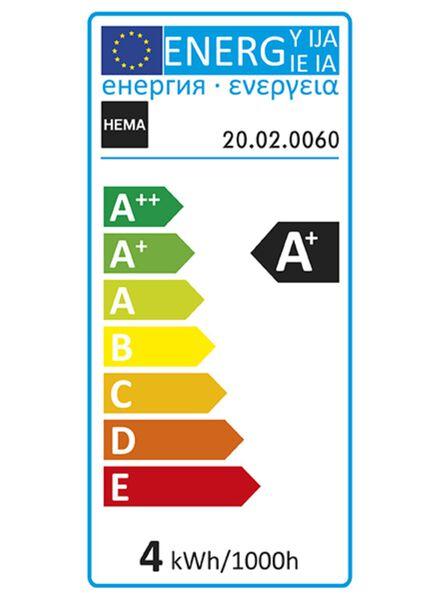 LED-Lampe, 4W, 280Lumen, Kugel, Kopfspiegel gold - 20020060 - HEMA