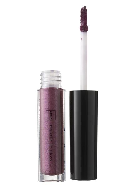 metallic lip gloss power purple - 11231106 - hema
