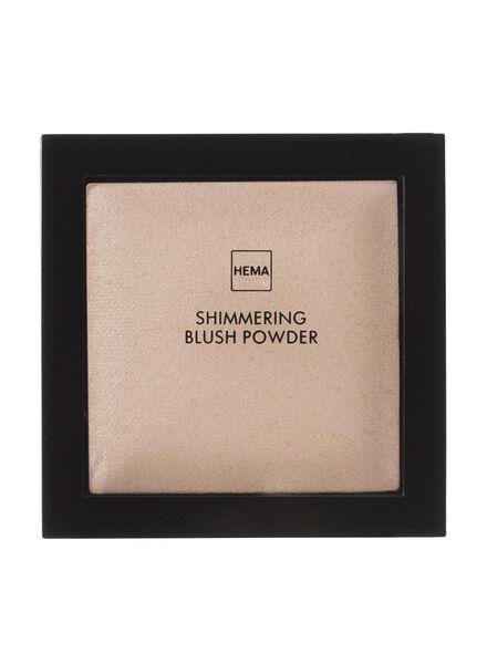 shimmering blush powder brilliant brown - 11294858 - hema
