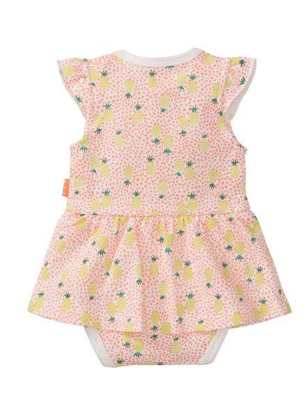 baby bodysuit dress pink pink - 1000007681 - hema
