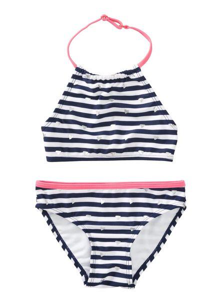 Kinder-Bikini dunkelblau - 1000011638 - HEMA