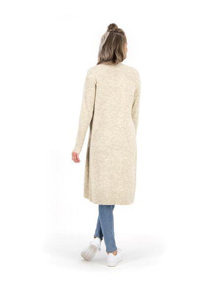 women's knitted cardigan cream cream - 1000014795 - hema
