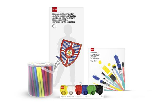arts and crafts set knight - 15920404 - hema