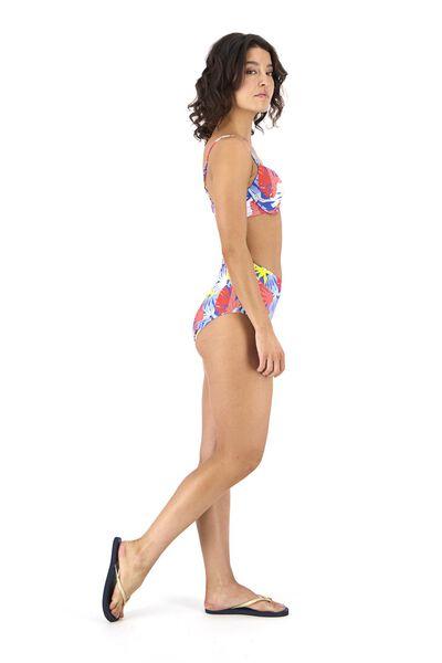 dames bikinislip high waist blauw blauw - 1000017949 - HEMA