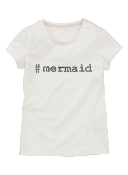 children's T-shirt white white - 1000006075 - hema