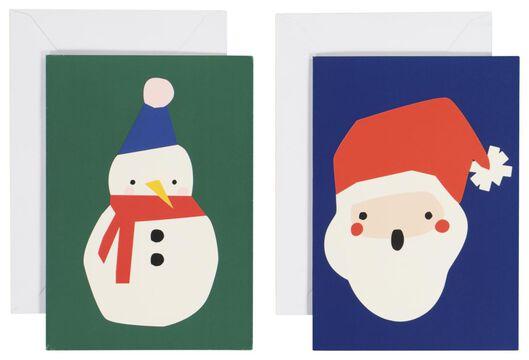 Image of HEMA 10 Christmas Cards 13.5x9.5 (multi)