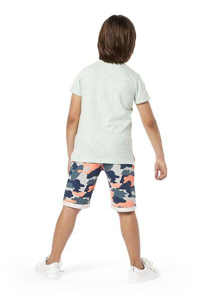 Kinder-T-Shirt blau blau - 1000019148 - HEMA