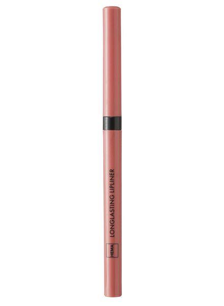 longlasting lipliner pink - 11230302 - HEMA