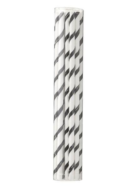 Lot de 20 pailles en papier - 14230042 - HEMA