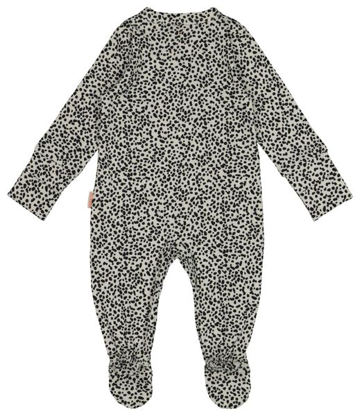 newborn jumpsuit with bamboo black black - 1000017633 - hema