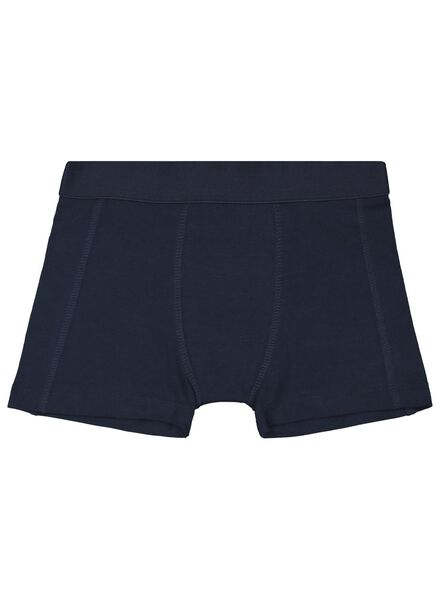 3-pack children's boxers dark blue dark blue - 1000017322 - hema