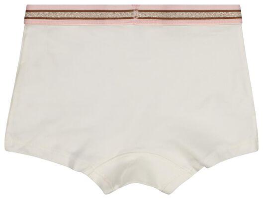 3 boxers enfant coton stretch rose rose - 1000021112 - HEMA