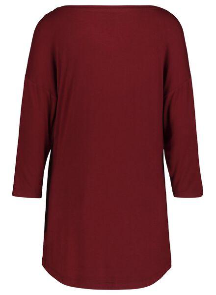 women's nightshirt grey melange grey melange - 1000017230 - hema