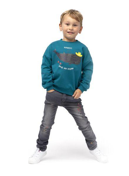 Kinder-Skinnyjeans grau grau - 1000015007 - HEMA