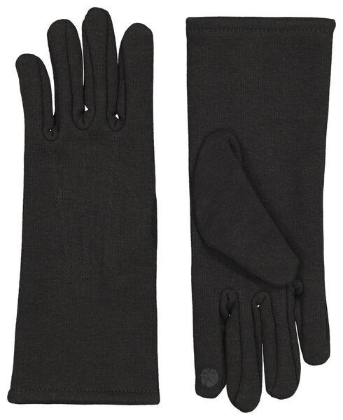 HEMA Handschoenen Touchscreen Zwart (zwart)