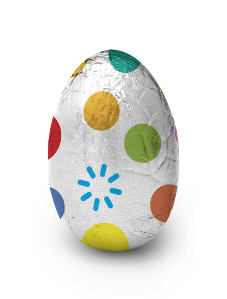œufs en chocolat au lait granulés en sucre 200g - 10092012 - HEMA