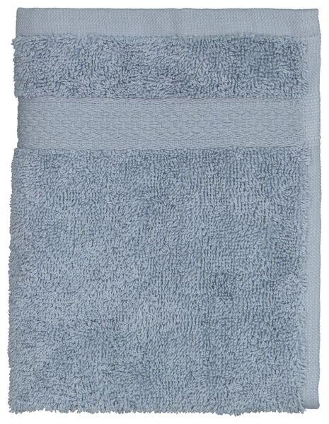 gastendoek 30x55 zware kwaliteit ijsblauw blauw gastendoekje - 5230038 - HEMA