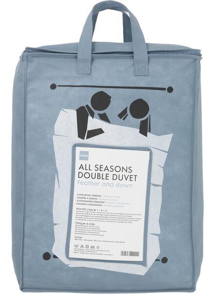 couette 50% duvet - 4 saisons - 200 x 200 cm blanc 200 x 200 - 5511902 - HEMA