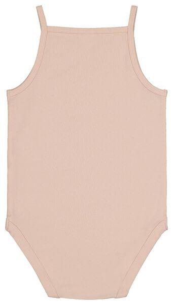 bodysuit organic cotton stretch light pink light pink - 1000017820 - hema