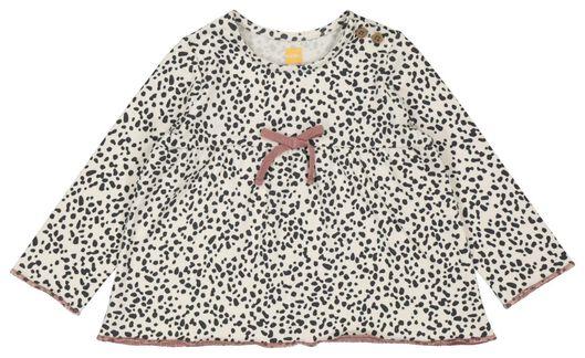 newborn setje tuniek en legging oudroze 68 - 33410914 - HEMA
