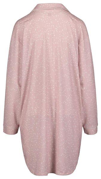 women's nightshirt light pink light pink - 1000018751 - hema
