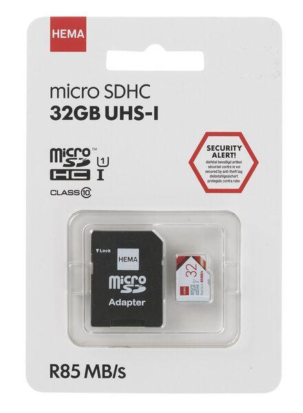 Carte mémoire micro SD 32 Go - 39520011 - HEMA