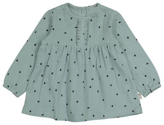 Baby-Kleid blau blau - 1000022700 - HEMA