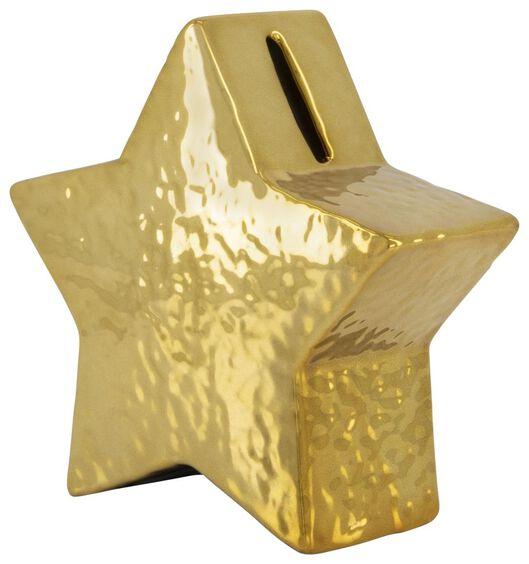 tirelire 13x13x5 - céramique étoile - 61122854 - HEMA