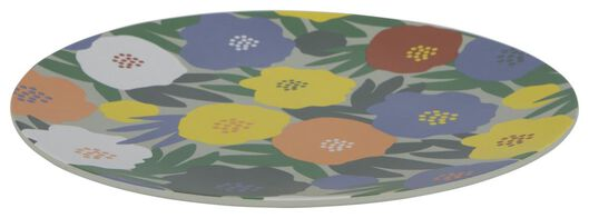 grande assiette en mélamine Ø27 fleur - 41820315 - HEMA