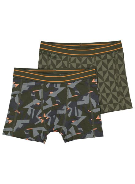 2-pack children's boxers army green army green - 1000015094 - hema