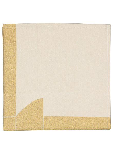 2 serviettes Viktor&Rolf - 47x47 - cotton - 5300085 - hema