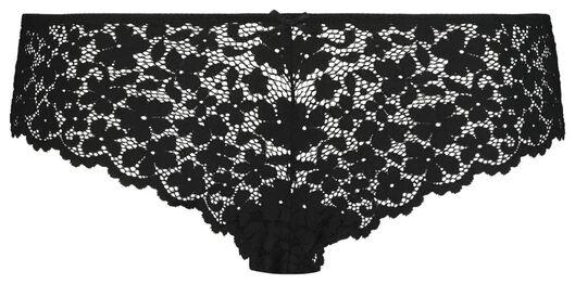B.A.E. Damen-Brazilian, Blütenspitze schwarz schwarz - 1000022600 - HEMA